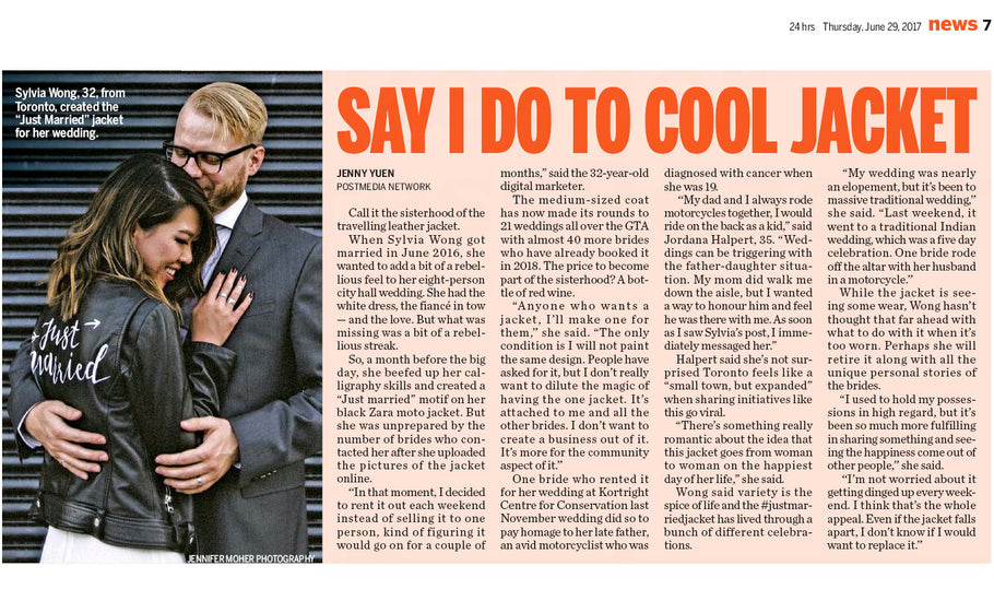 The Toronto Sun & 24 hrs Feature