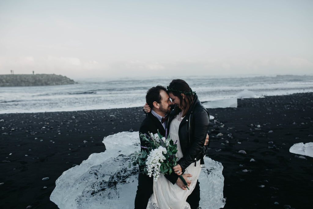Beautiful scenery in Iceland for couples elopement.