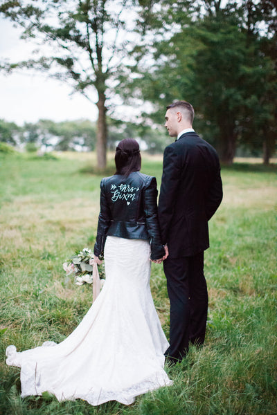 Custom Mr. or Mrs. Jacket Design