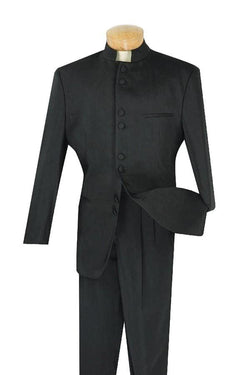 Men's Regular Fit Tuxedo 2 Piece 8 Buttons in Black - SUITS FOR MENS