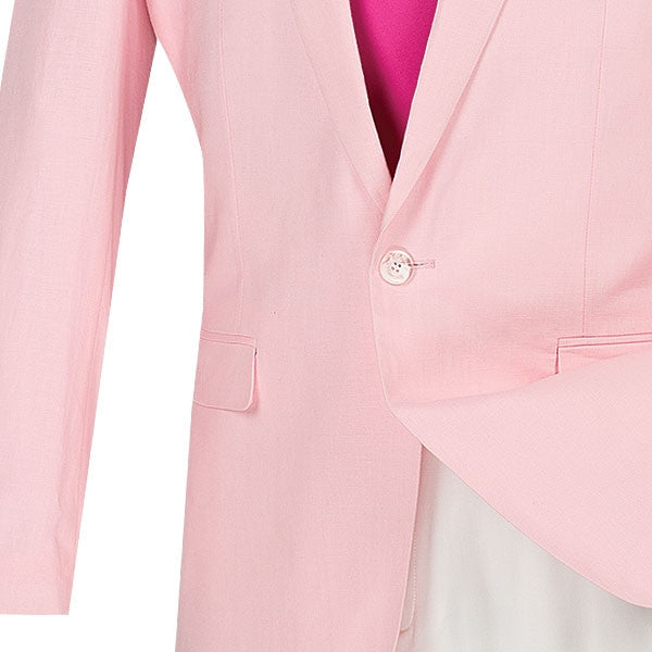 PINK SLIM FIT SPORT COAT VINCI MENS FASHION JACKET NEW