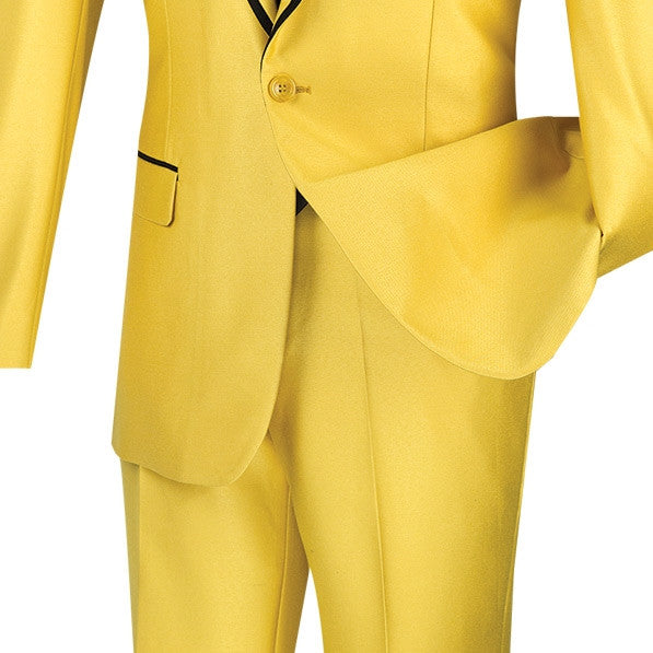 GOLD SUITS MEN'S WEDDING TUXEDOS FASHION SILM FIT SUITS SHAWL LAPEL NEW