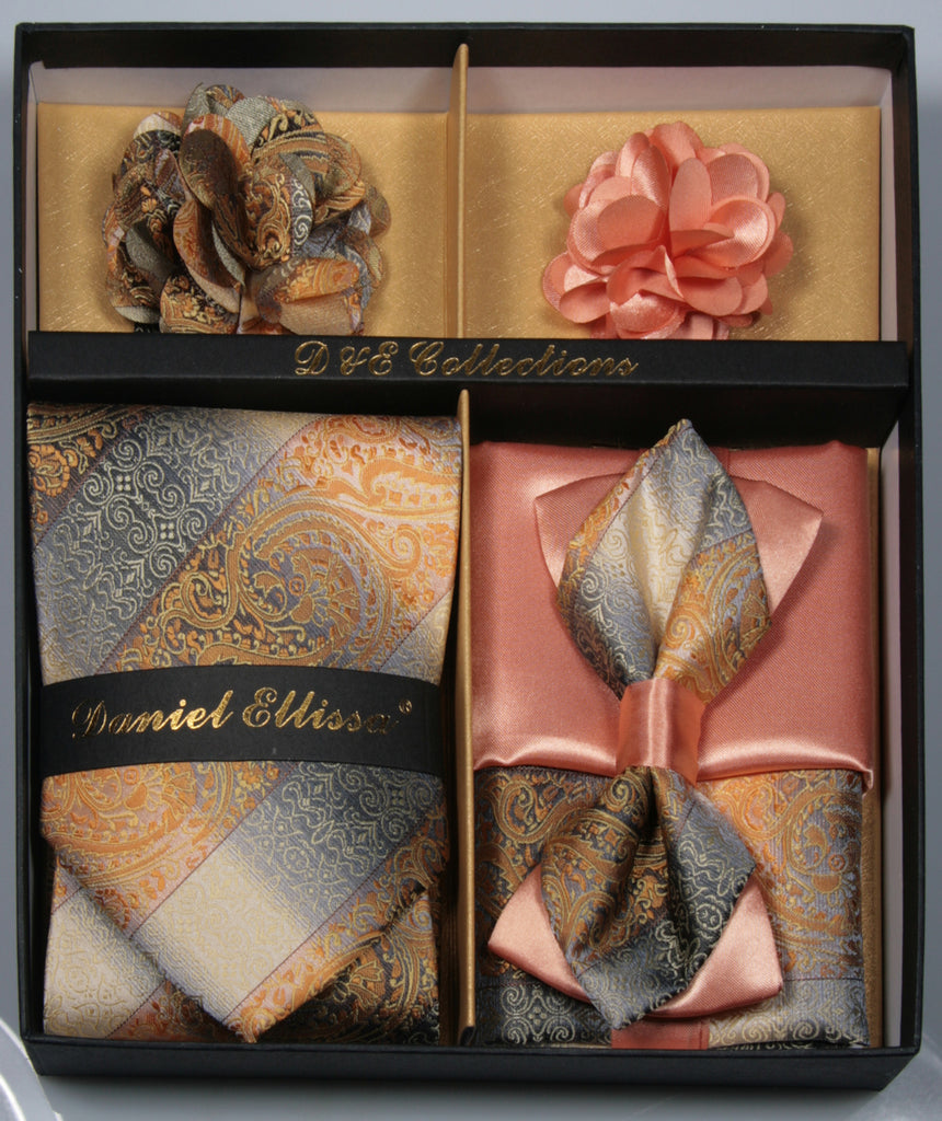 Coral Men's Accessories Collection Box 6 Pieces Set - Mens Suits