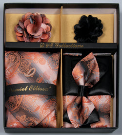 Orange Men's Accessories Collection Box 6 Pieces Set - SUITS FOR MENS