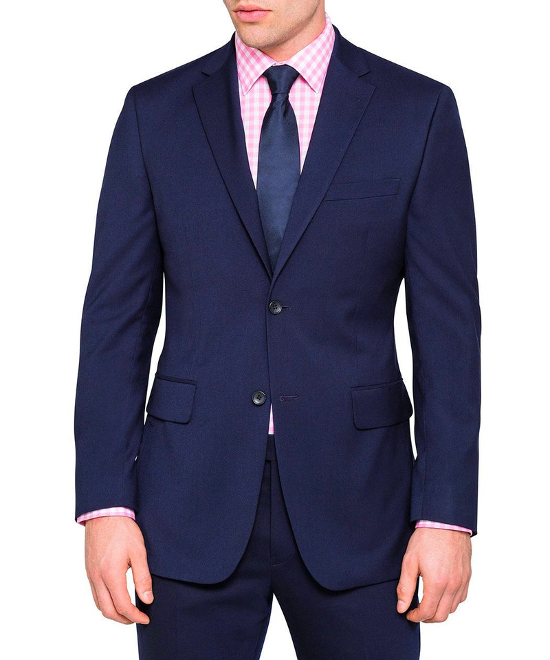 Ultra Slim Fit Suit 2 Piece 2 Button Midnight Blue - SUITS FOR MENS