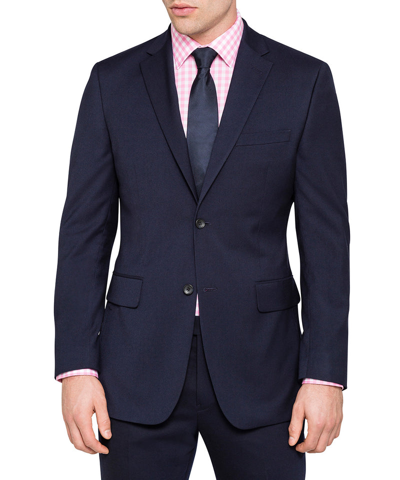 Stilo Collection - Slim Fit Suit Year Round Style 2 Piece 2 Button Navy - SUITS FOR MENS