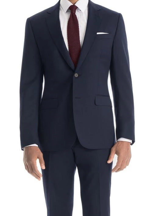 Slim Fit Year Round Style 2 Pieces 2 Buttons French Blue - SUITS OUTLETS