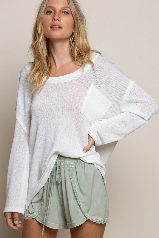 Casual On the Go Lightweight Sweater
