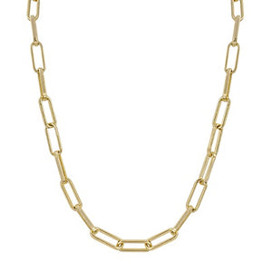"Gold Chain 17""-19"" Necklace"