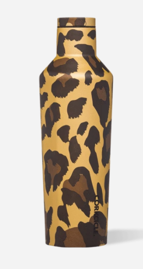 Luxe Leopard 16oz Canteen