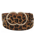 Fur CG Buckle Belt