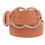 Double Metal Ring Buckle Belt