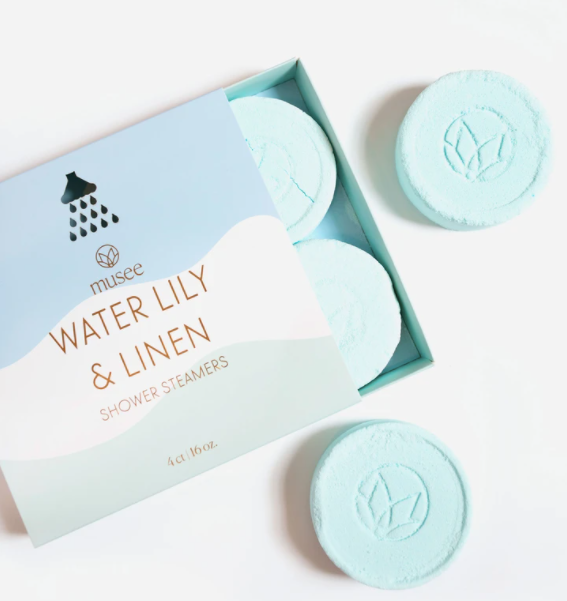 Water Lily & Linen Shower Steamers