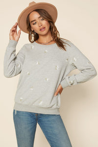 Embroidery Sweatshirt