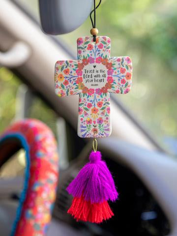 Air Freshener Trust in the Lord