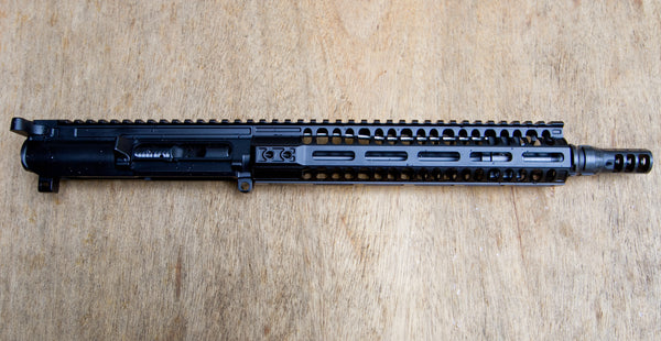 "Complete Matched Aero Precision 10.5"" Upper  With 10"" Rail"