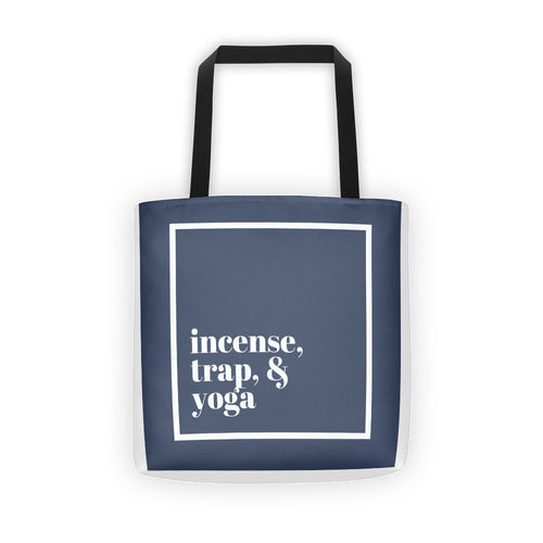 Incense, Trap, & Yoga Tote