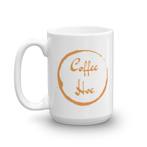 coffee hoe mug