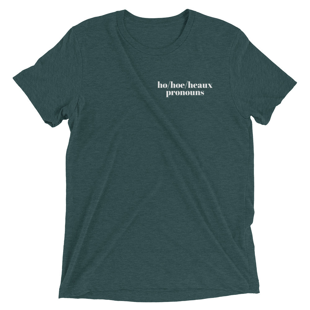 Pronouns Tee (original)