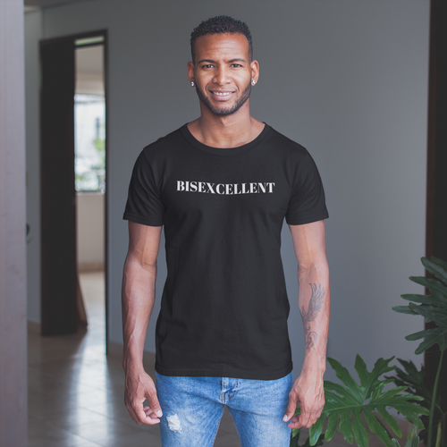 Frenchie Davis Collection- Bisexcellent bisexual tee