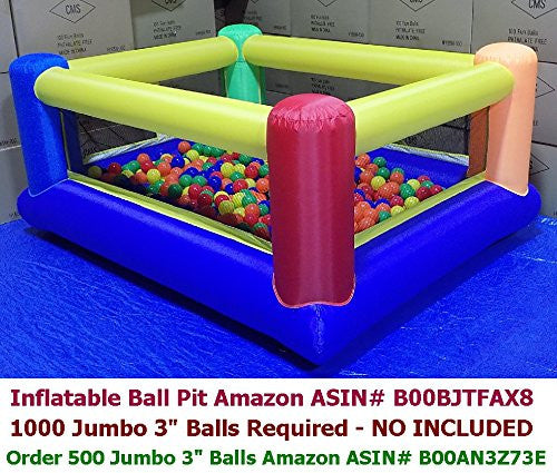 My Bouncer Perfect Little Ball Pit - Perfect Size for Indoor Use measured 84