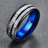Pure Meteorite Tungsten Ring