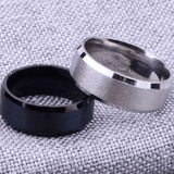 Exchange Page for - Pure Tungsten Carbide Ring