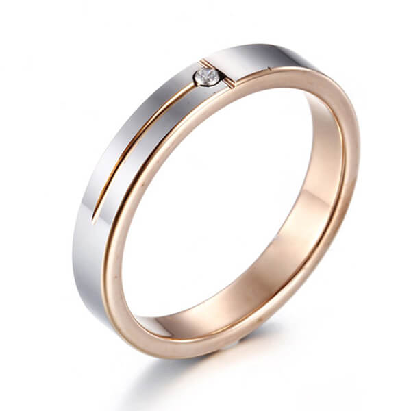 Product Exchange Page for Women Rose Gold Tungsten Ring