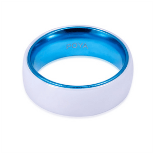 Product Exchange Page for Ceramic White Ring with Inner Blue