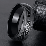 Product Exchange Page for Zebra Twist Tungsten Ring