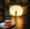 Image of Luminate LED Folding Wooden Light Book Lamp Award Winning Design -Product of the Year Free Global Shipping