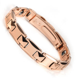 Tungsten Rose Gold Bracelet