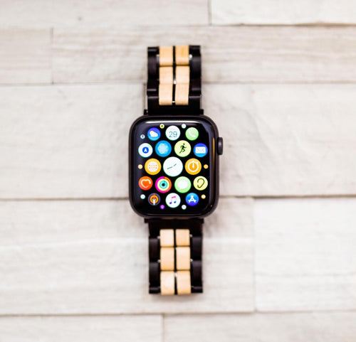 Apple Watch Wooden Band