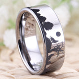 Product Exchange  Page for -  Wolf Nature Tungsten Ring