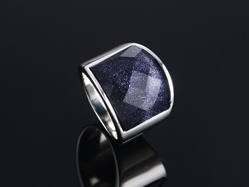 Blue Stone Vintage Ring