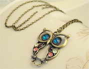 Galileo Owl Sight Pendant Necklace