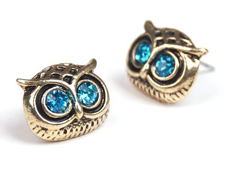 Arcane Owl Earrings