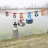 Lightweight Aluminum Rope Hangers (5 Pieces)