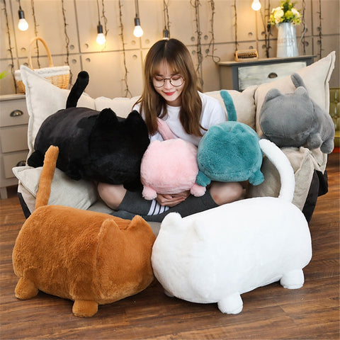PawPillow™ Huggable Cat Shaped Sofa Pillow