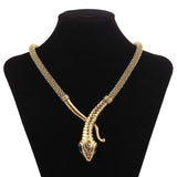Serpent Statement Necklace