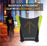 SignaLight™ Cycling Safety Vest- 48 LED Dynamic Picture System