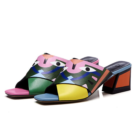 Zanie™ Leather Sandals