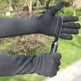 Extra Long Cut-Resistant Steel Gauntlets