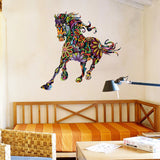 Galloping Charger Horse Wall Art Decal