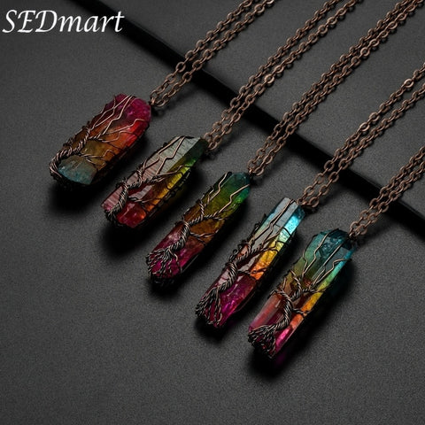 Sienna Amada™ Natural Chakra Stone Necklace