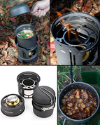 All-in-one Camping Kitchen (7 Pieces)