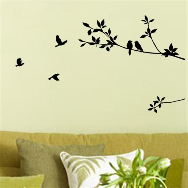 Birds on Branches Wall Art Decal  sc 1 st  ThriveBlue & Birds on Branches Wall Art Decal u2013 ThriveBlue