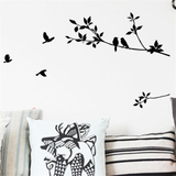 Birds on Branches Wall Art Decal