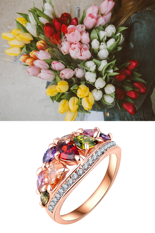 Floral Bouquet Ring