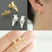 Pretty Bird Parrot Earrings